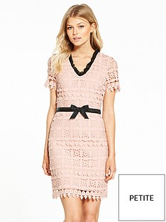 v-by-very-petite-contrast-frill-lace-dress