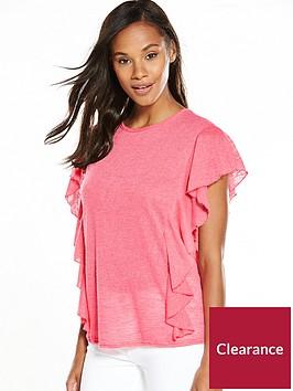 v-by-very-frill-slub-t-shirt-coral