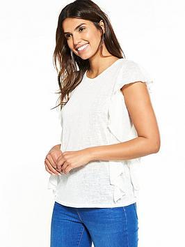 v-by-very-frill-slub-t-shirt-white