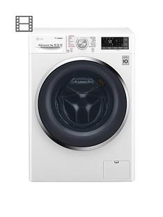 LG F4J8FH2W 9Kg/6Kg 1400 Spin Washer Dryer