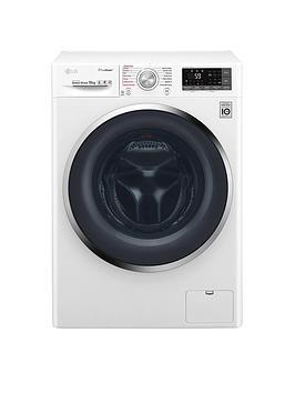 Lg F4J8Js2W 10Kg Load,1400 Spin Washing Machine