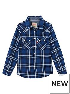 levis-boys-check-shirt