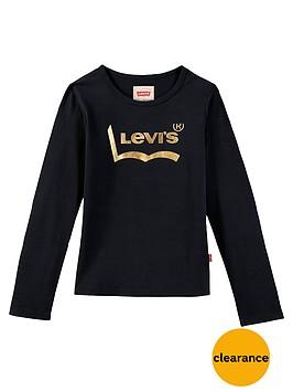 levis-girls-long-sleeve-logo-t-shirt