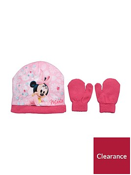 minnie-mouse-minnie-mouse-baby-2pc-hat-and-mittens-set