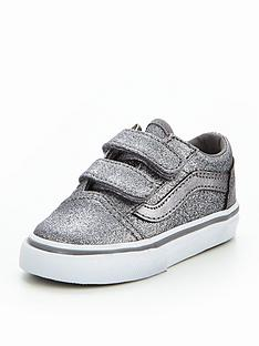 vans-vans-td-old-skool-v-glitter-infant-trainer