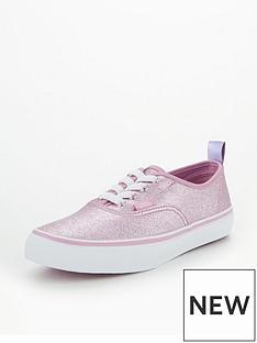 vans-vans-uy-authentic-elastic-lace-glitter-junior-trainer