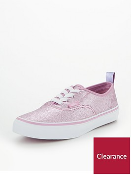 vans-vans-uy-authentic-elastic-lace-glitter-junior-trainer