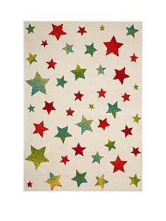 star-print-rug