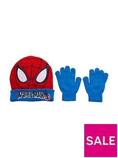 spiderman-2pc-hat-and-glove-set