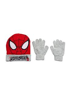 spiderman-2pc-hat-and-glove-set