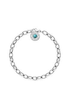 thomas-sabo-thomas-sabo-sterling-silver-turquoise-stone-charm-club-bracelet