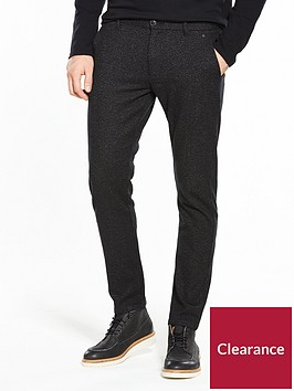 selected-homme-structured-slim-trousers