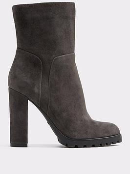 Aldo Fresi Cleated Sole Ankle Boot
