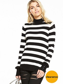 v-by-very-frill-button-cuff-turtleneck-jumper