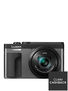 panasonic-dc-tz90eb-k-lumixnbsp203mp-30xnbsptravel-zoom-camera-with-4k-amp-180ordm-tilt-lcdnbsp-nbspsilvernbsppound30-cash-back-available