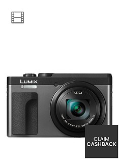 panasonic-dc-tz90eb-k-lumixnbsp203mp-30xnbsptravel-zoom-camera-with-4k-amp-180ordm-tilt-lcdnbsp-nbspsilvernbspup-to-pound30-cashback