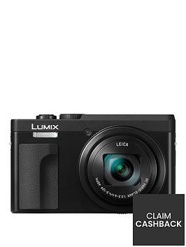 panasonic-dc-tz90eb-k-lumixnbsp203mp-30xnbsptravel-zoom-camera-with-4k-amp-180ordm-tilt-lcdnbsp--blacknbsppound30-cash-back-available