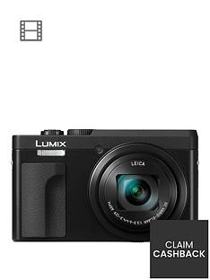 panasonic-dc-tz90eb-k-lumixnbsp203mp-30xnbsptravel-zoom-camera-with-4k-amp-180ordm-tilt-lcdnbsp--blacknbspsave-pound20-with-voucher-code-lxk3t