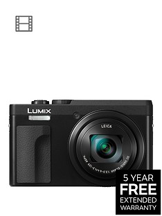 panasonic-dc-tz90eb-k-lumixnbsp203mp-30xnbsptravel-zoom-camera-with-4k-amp-180ordm-tilt-lcdnbsp--blacknbspwith-extended-5-year-warranty-available