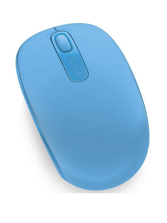 WIRELESS MOBILE MOUSE 1850 CYAN BLUE