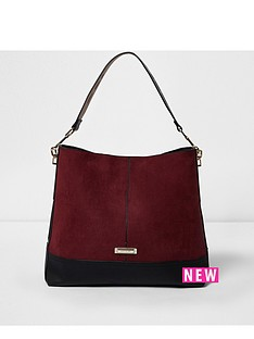 river-island-red-slouch-bag