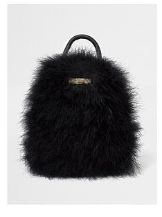 river-island-river-island-feather-mini-backpack