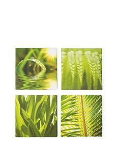 graham-brown-green-leaf-quad-canvas