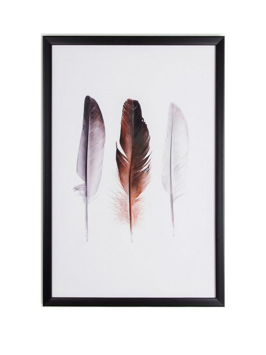 graham brown feather trio framed wall art