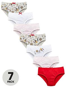mini-v-by-very-girls-7-pack-christmas-unicorn-knickers