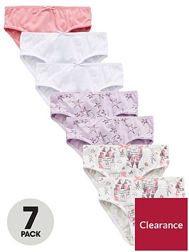 mini-v-by-very-girls-7-pack-princess-castle-knickers