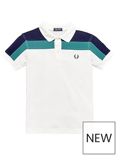 fred-perry-chest-panel-polo-shirt