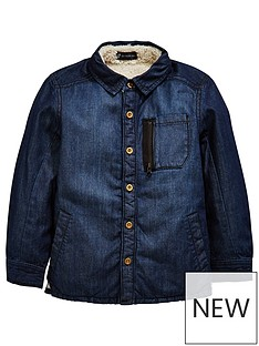 mini-v-by-very-boys-denim-faux-fleece-lined-shacket