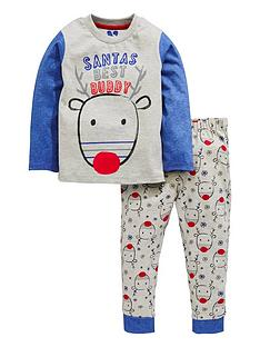 mini-v-by-very-boys-santarsquos-best-buddy-christmas-pyjamas