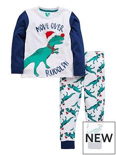 mini-v-by-very-boys-dinosaur-rudolph-christmas-pj