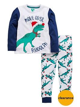 mini-v-by-very-boys-dinosaur-rudolph-christmas-pyjamas