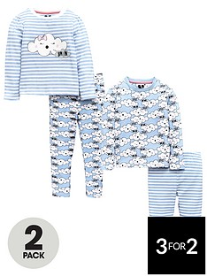 mini-v-by-very-girls-2-pack-sleepy-cloud-pyjamas