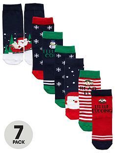 mini-v-by-very-boys-7-pack-christmas-scene-novelty-socks