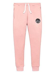 hype-girls-zip-pocket-pink-joggers