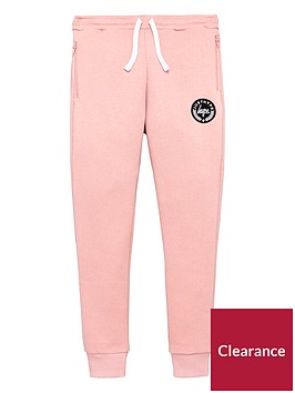 hype-girls-zip-pocket-pink-joggers