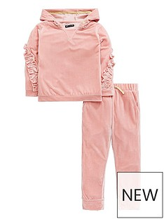 mini-v-by-very-girls-velour-frill-trim-jogger-outfit