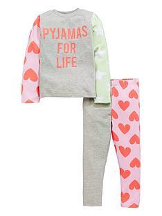 mini-v-by-very-girls-bright-neon-slogan-pyjamas