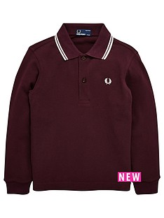 fred-perry-fred-perry-kids-twin-tipped-long-sleeve-polo-shirt