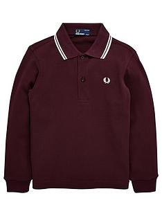 fred-perry-kids-twin-tipped-long-sleeve-polo-shirt