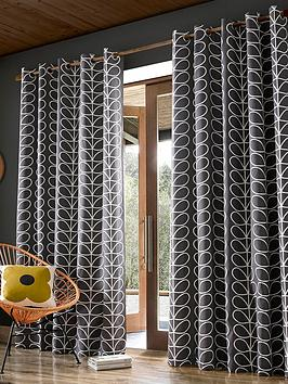 orla-kiely-orla-kiely-linear-stem-lined-eyelet-curtains