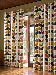 orla-kiely-orla-kiely-multi-stem-lined-eyelet-curtains