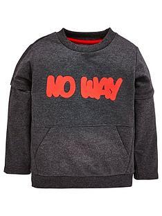 mini-v-by-very-boys-grey-marl-slogan-sweat
