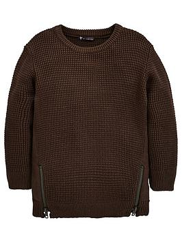 mini-v-by-very-boys-longline-zip-sweater