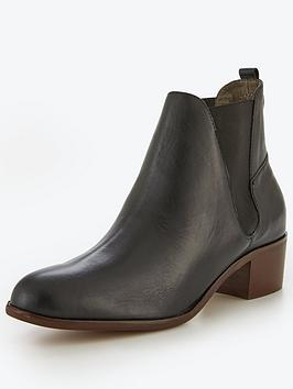Hudson London Hudson Compound Leather Chelsea Ankle Boot