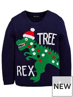 mini-v-by-very-boys-dinosaur-novelty-christmas-jumper