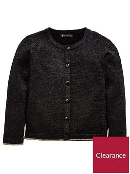 mini-v-by-very-girls-black-lurex-sparkle-cardigan